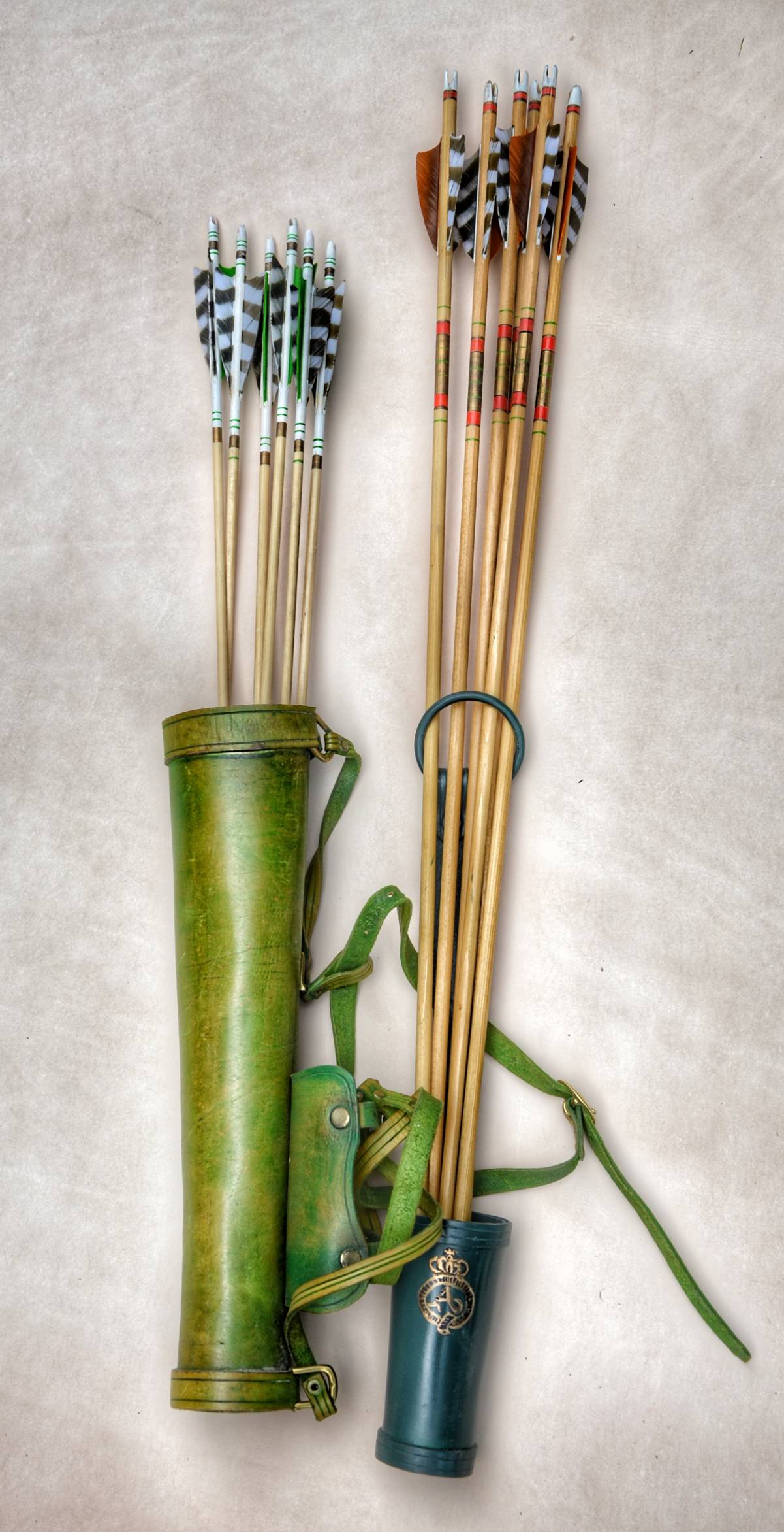 Victorian arrows and quivers
